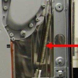 Sprężyna drzwi, zestaw, HYDRIM C61