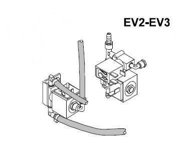 Elektrozawór dwudrożny EV2/EV3, BRAVO